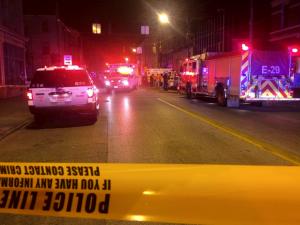 CINCY AMBULANCE CRASHES WITH SHOOTING VICTIM ON BOARD