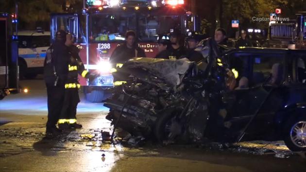 5 INJURED IN CHICAGO HEAD ON APPARATUS CRASH