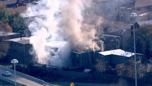2 CHICAGO FIREFIGHTERS INJURED IN CHINATOWN BLAZE