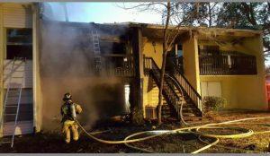 FIREFIGHTER INJURED AT FATAL FL FIRE