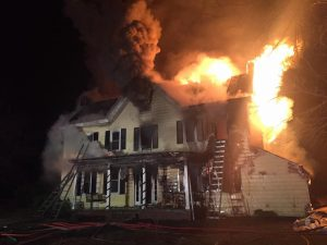 2 VA FIREFIGHTERS INJURED AT HOUSE FIRE
