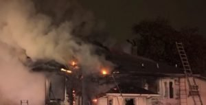 2 DALLAS FIREFIGHTERS INJURED AT HOUSE FIRE