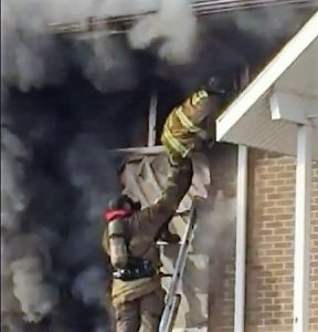 FIRE CHIEF: STAFFING WAS AN ISSUE IN FIRE THAT INJURED MEMBERS