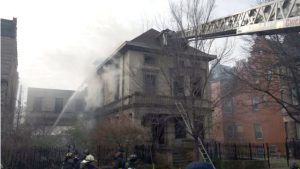 CHICAGO FIREFIGHTER INJURED AT 2-11 ALARM FIRE