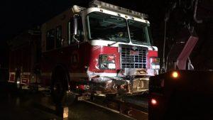 FATAL FIRE APPARATUS CRASH KILLS TEENAGER, 1 FIREFIGHTER INJURED