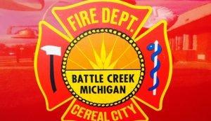 BATTLE CREEK, MI INJURED AT FIRE