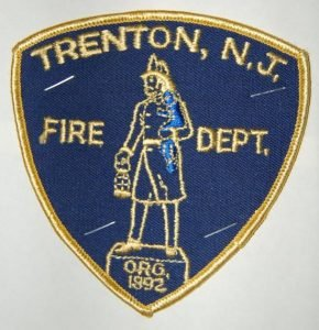 NJ FIREFIGHTER FALLS OUT OF RESPONDING ENGINE