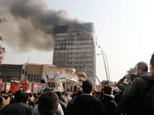 30 FIREFIGHTERS KILLED IN HIGH RISE FIRE COLLAPSE IN IRAN