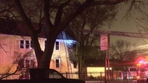 CHICAGO FIREFIGHTER INJURED IN 20′ FALL