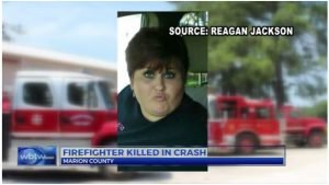 FIREFIGHTER DIES IN CRASH FOLLOWING A RUN, 2nd FIREFIGHTER IN SERIOUS CONDITION