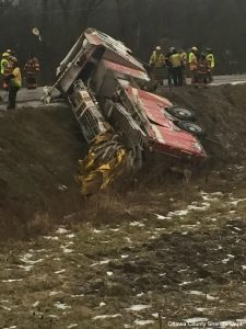 APPARATUS ROLLOVER IN MICHIGAN