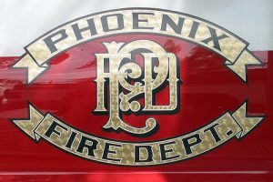 PHOENIX FIREFIGHTER STUNG ON BEE SWARM CALL