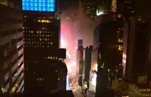 2 FDNY FIREFIGHTERS INJURED AT TIMES SQUARE FIRE