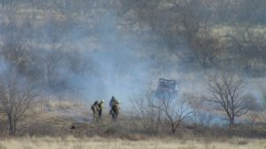 FIREFIGHTERS BURNED IN TEXAS