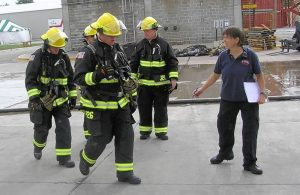 Hanover Park leads national study to improve firefighter safety