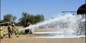 AUSSIE FIREFIGHTERS TO GET BLOOD TEST FOR FIREFIGHTING FOAM