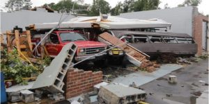TORNADO HITS NC FIRE STATION WITH CREW INSIDE