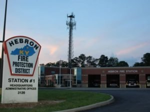 FIREFIGHTER SERIOUSLY BURNED AT FIRE STATION INCIDENT