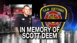 FUNERAL DETAILS: SAN ANTONIO FIRE DEPT, FIREFIGHTER SCOTT DEEM