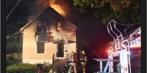 THREE FIREFIGHTERS HURT RESCUING 9-YEAR-OLD FROM BURNING HOUSE