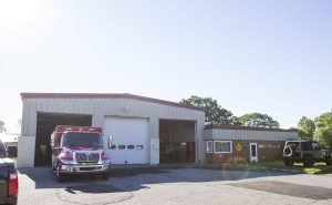 RIG CATCHES FIRE IN SOUTH BEND, IN FIREHOUSE