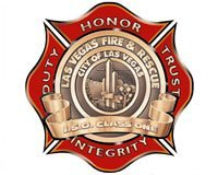 LAS VEGAS FIREFIGHTER HOSPITALIZED AFTER VACANT HOUSE FIRE