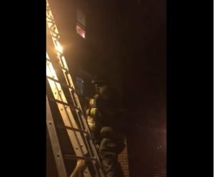 FIVE DC FIREFIGHTERS HURT AT APARTMENT FIRE