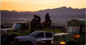 TWO UTAH WILDLAND FIREFIGHTERS HURT