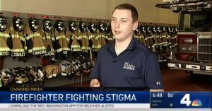MD. FIREFIGHTER GOES PUBLIC ABOUT HIS PTSD TO HELP OTHERS