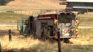 UPDATE: CA WILDLAND APPARATUS CRASH