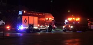 NEB. FIREFIGHTER SERIOUSLY HURT