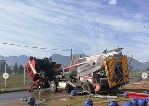 FATAL APPARATUS CRASH IN SOUTH AFRICA