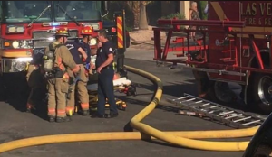 3 LAS VEGAS FIREFIGHTERS INJURED – PROPANE GRILL EXPLOSION