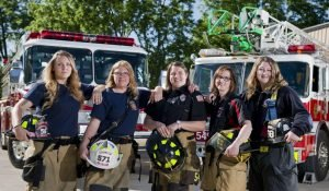 THE WOMEN FIREFIGHTERS