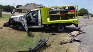 ONE SERIOUS AFTER TX APPARATUS CRASH