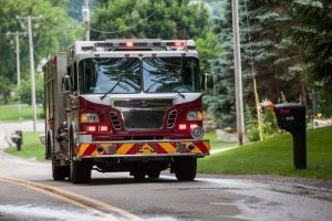 NAKED WOMAN FOUND ON TOP OF MICHIGAN FIRE TRUCK