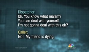 DISPATCHER SUED BY VICTIM'S PARENTS