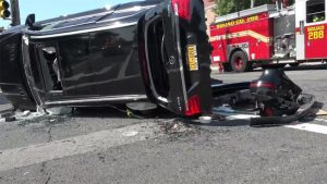 SERIOUS RESPONDING FIRE APPARATUS CRASH INJURES 7 INCLUDING CHILD – FDNY
