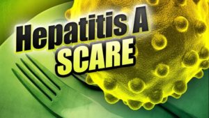 FIREFIGHTERS AT FIRE SCENE EXPOSED TO HEPATITIS A