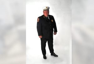 FIRE CHIEF RELIVES UPS AND DOWNS OF A LONG CAREER