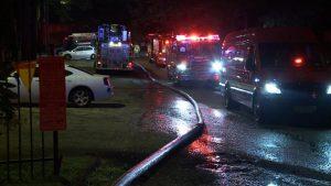 MEMPHIS FIREFIGHTER INJURED AT FIRE