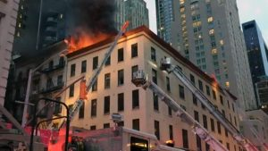 11 FDNY FIREFIGHTERS INJURED AT FIRE