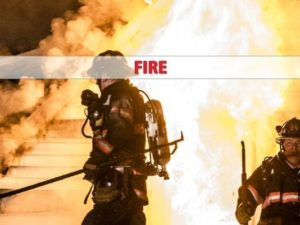 2 FIREFIGHTERS INJURED AT NY FIRE