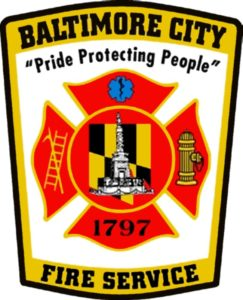 TWO BALTIMORE FIREFIGHTERS INJURED AT FIRE