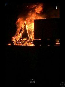 GA FIREFIGHTER SUFFERS HEART ATTACK AT TRUCK FIRE SCENE