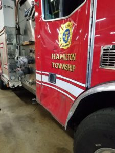 TWO RESPONDING FIRE APPARATUS CRASH RESPONDING TO WORKING FIRE – NEW JERSEY