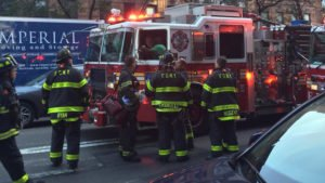 MAN CRASHES BOX TRUCK, INJURES PEOPLE, THEN JUMPS INTO FDNY FIRE APPARATUS, ATTACKS FIREFIGHTERS!
