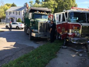 INDIANAPOLIS – DUMP TRUCK VS. ENGINE