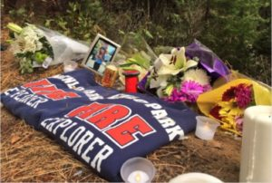 TWO FIRE EXPLORERS AMONG 3 TEENS DEAD IN CAR CRASH