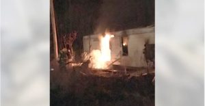 OHIO FIREFIGHTERS DODGE LIVE AMMO AT MOBILE HOME FIRES